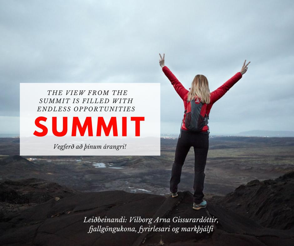 Summit – Vegferð Að þínum árangri!