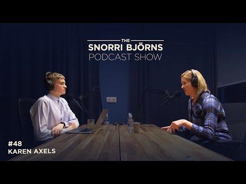 Snorri Bjorns Og Karen Axels